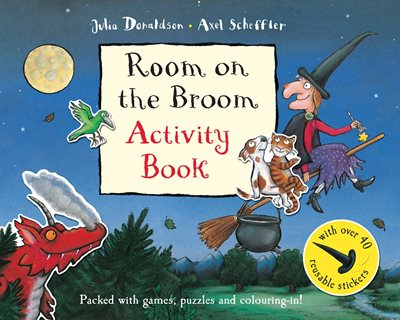 Book cover for Room on the Broom Activity Book